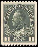 Timbre: King George V Admiral