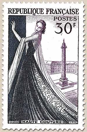 timbre: Haute couture parisienne