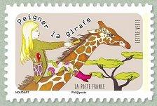 Timbre: Peigner la girafe