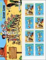 Timbre: Lucky Comics - Carnet