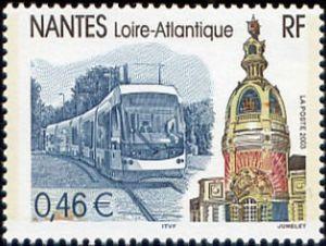 Timbre: Nantes (Loire Atlantique)