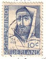 timbre: Martyre de l'apôtre Bonifatius