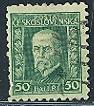 Timbre: Président Masaryk