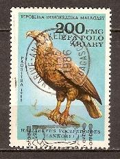 Timbre: Oiseaux. Haliaeetus vociferoides