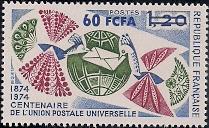 timbre: 100naire de l'U.P.U.