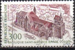 Timbre: Basilique st-Maurice à Epinal