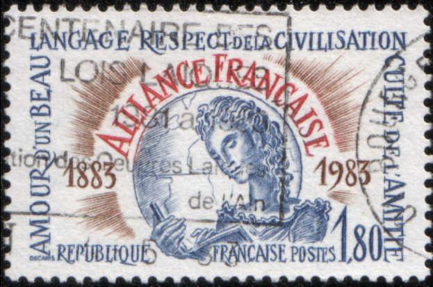Timbre: Alliance Française