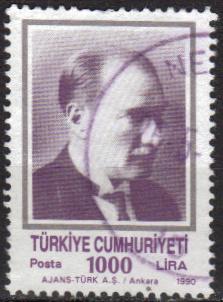 Timbre: Portrait d'Atatürk