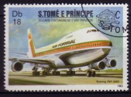 Timbre: Boeing 747