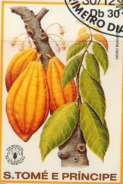 Timbre: Theobroma cacao
