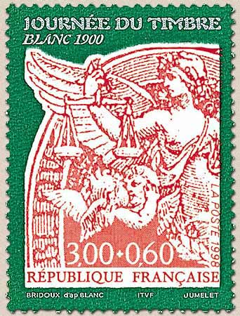 Timbre: Type  Blanc 1900