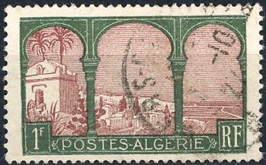 timbre: Vue d'Alger
