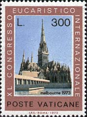 Timbre: 40ème congrès eucharistique international