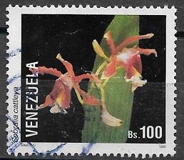 Timbre: Orchidee Sobralia