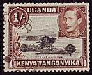 Timbre: Lac Naivasha et George VI 2è choix