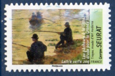 Timbre: Georges Seurat (nb2)