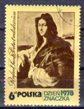 Timbre: Journée du timbre, tableau de Raphaël