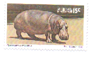 Timbre: Hippopotame