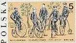 Timbre: Série Société cycliste de Varsovie
