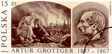 Timbre: Artur Grottger