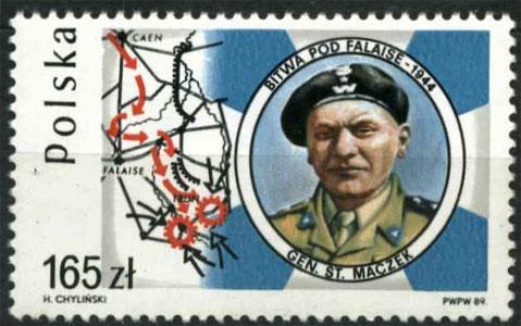 Timbre: Général Maczek