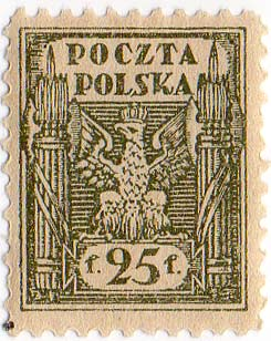 Timbre: Aigle polonais