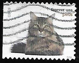 Timbre: Chat - (ND gauche)