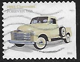 Timbre: Chevrolet 1953 - (ND droite)