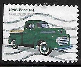 Timbre: Ford F-1 1948 - (ND gauche)