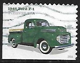 Timbre: Ford F-1 1948 - (ND bas & gauche)