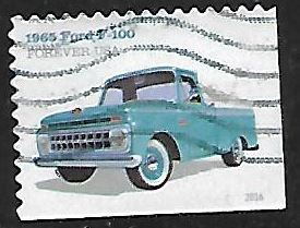 Timbre: Ford F-100 1965 - (ND bas & droite)