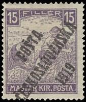 timbre: Timbre de Hongrie de 1916