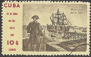 timbre: 1er voyage pour les indes