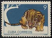 timbre: Zoo de La Havane. Tigre