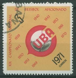 timbre: 19èmes championnats mondiaux de Base-Ball