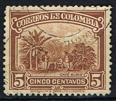 Timbre: Plantation de café