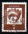 Timbre: Elisabeth de Thuringe (Papier blanc)