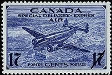 Timbre: Par expres - Special Delivery Air