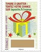Timbre: Le timbre à gratter (déjà gratté)