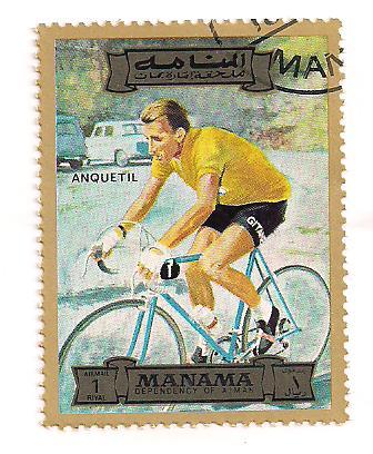 Timbre: Tour de France(Anquetil )