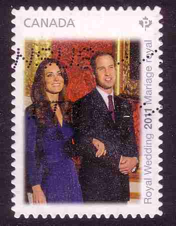 Timbre: Prince William et Kate Middleton