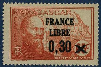 timbre: France libre