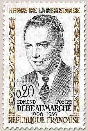 timbre: Edmond Debeaumarché