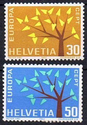 Timbre: Arbre à 19 feuilles