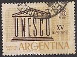 Timbre: 15 ans UNESCO