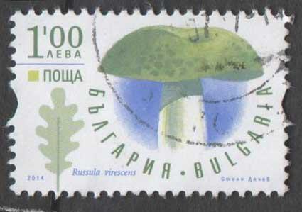 Timbre: Russula virescens
