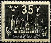 Timbre: Congrès de l'U.P.U.