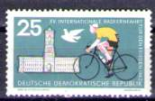 Timbre: 15e Course cycliste de la Paix