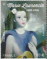 Timbre: Marie Laurencin.