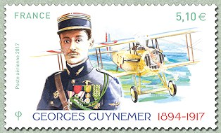 timbre: Georges Guynemer -